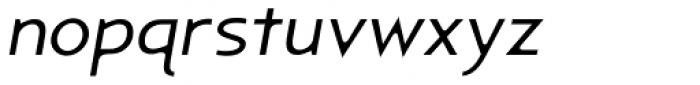 Astrogator BB Light Italic Font LOWERCASE