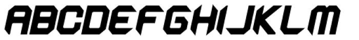 Astronaut Black Italic Font UPPERCASE