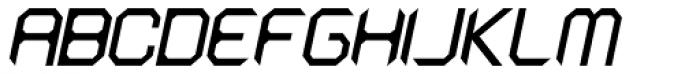 Astronaut Italic Font UPPERCASE