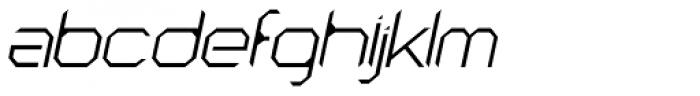 Astronaut Thin Italic Font LOWERCASE