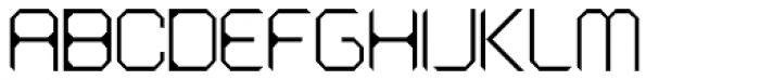 Astronaut Thin Font UPPERCASE