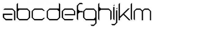 Astronaut Thin Font LOWERCASE