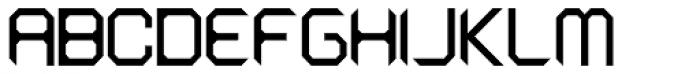 Astronaut Font UPPERCASE