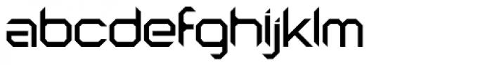 Astronaut Font LOWERCASE