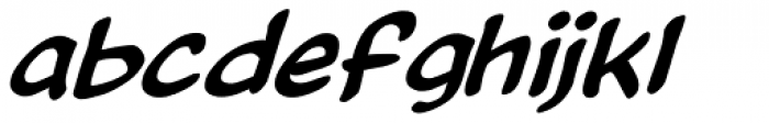 Astronauts In Trouble Italic Font LOWERCASE