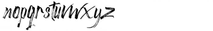 Astronema Regular Font LOWERCASE