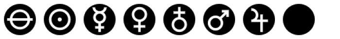 Astrotype N Dot Font OTHER CHARS