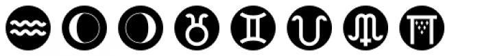 Astrotype N Dot Font UPPERCASE