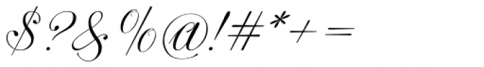 Astrum Latin Light Font OTHER CHARS