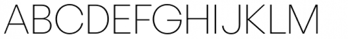 Astrup Extralight Font UPPERCASE