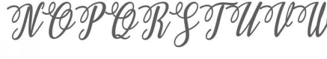 Ashburton Font UPPERCASE