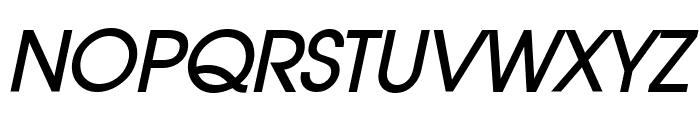 Atilla BoldItalic Font UPPERCASE