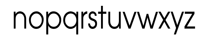 Atilla Condensed Normal Font LOWERCASE