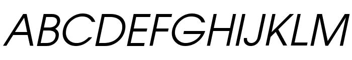 Atilla Italic Font UPPERCASE