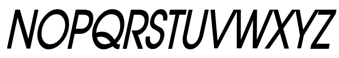 Atilla Thin BoldItalic Font UPPERCASE