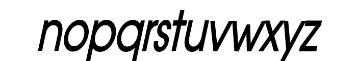 Atilla Thin BoldItalic Font LOWERCASE