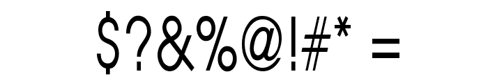 Atilla Thin Normal Font OTHER CHARS