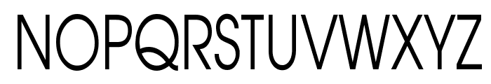 Atilla Thin Normal Font UPPERCASE