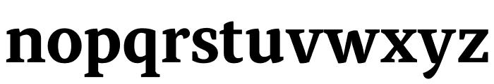 Atiza Text Bold Font LOWERCASE