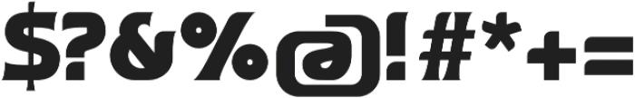 Ata 95 Black otf (900) Font OTHER CHARS