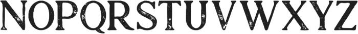 Atari Bold Grunge otf (700) Font UPPERCASE