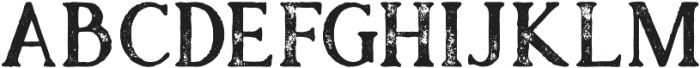 Atari Bold Grunge otf (700) Font LOWERCASE
