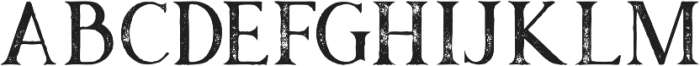 Atari Grunge otf (400) Font LOWERCASE