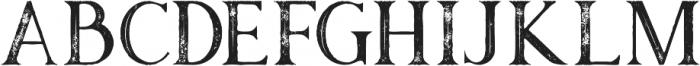 Atari Inline Grunge otf (400) Font UPPERCASE