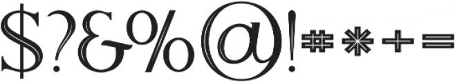 Atari Inline otf (400) Font OTHER CHARS