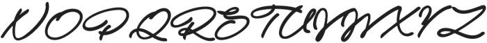 Atelas otf (400) Font UPPERCASE