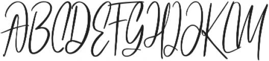 Athen Alt One ttf (400) Font UPPERCASE