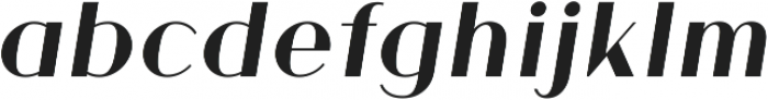Athena Bold Italic ttf (700) Font LOWERCASE