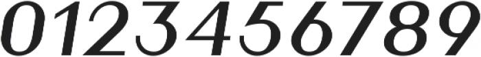 Athena Book Italic ttf (400) Font OTHER CHARS