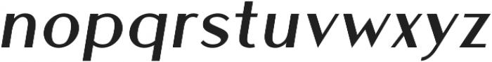 Athena Book Italic ttf (400) Font LOWERCASE