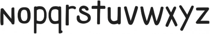 Athena Sans Serif otf (400) Font LOWERCASE