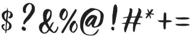 Athena Script otf (400) Font OTHER CHARS