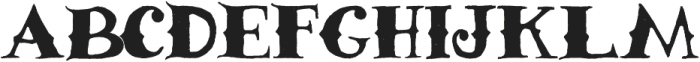 Athena otf (400) Font UPPERCASE