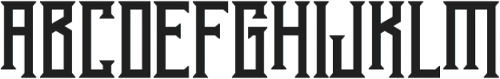 Athenry High otf (400) Font UPPERCASE