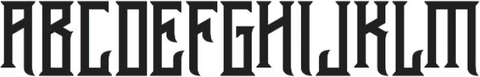 Athenry Sharp otf (400) Font UPPERCASE