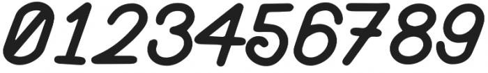 Athera Script Regular otf (400) Font OTHER CHARS