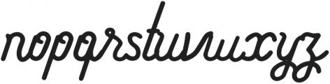 Athera Script Regular otf (400) Font LOWERCASE