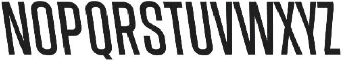 Athletic Condensed Backslanted otf (400) Font UPPERCASE