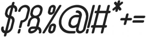Athletica Sans Black Italic otf (900) Font OTHER CHARS
