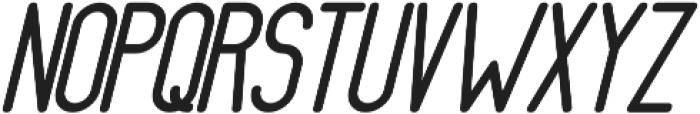 Athletica Sans Black Italic otf (900) Font UPPERCASE