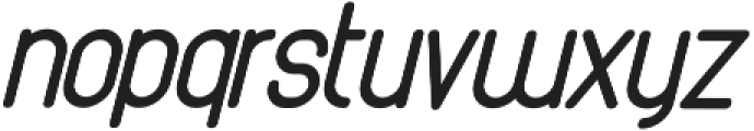 Athletica Sans Black Italic otf (900) Font LOWERCASE