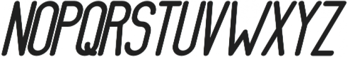 Athletica Sans Extra Black Italic otf (900) Font UPPERCASE