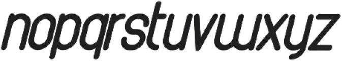 Athletica Sans Extra Black Italic otf (900) Font LOWERCASE