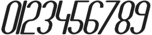 Athletica Sans Heavy Expanded Italic otf (800) Font OTHER CHARS
