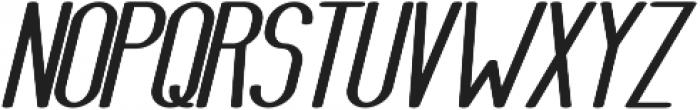 Athletica Sans Heavy Expanded Italic otf (800) Font UPPERCASE