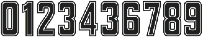 Athletica otf (400) Font OTHER CHARS